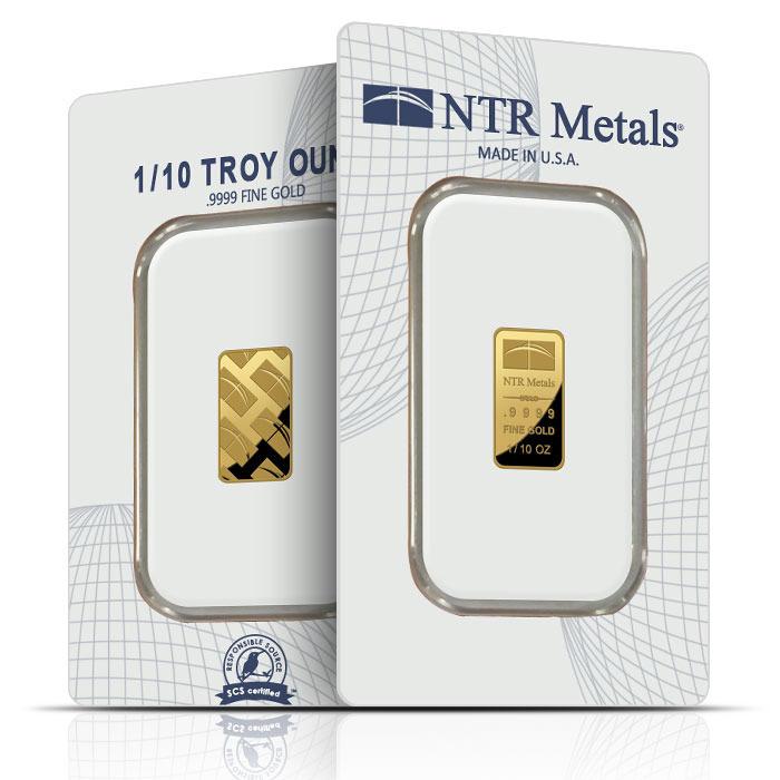 NTR 1/10 oz gold bar