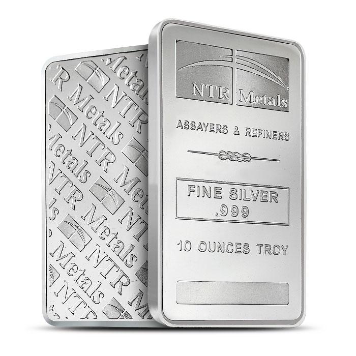 NTR 10 oz Silver Bars