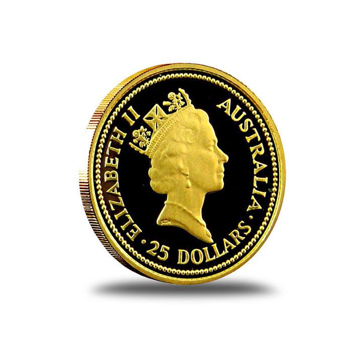 Australian Nugget 1/4 oz Gold Coin Reverse