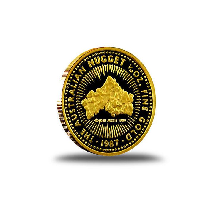 Australian Nugget 1/10 oz Gold Coin Reverse