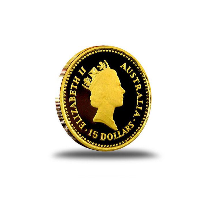 Australian Nugget 1/10 oz Gold Coin Obverse