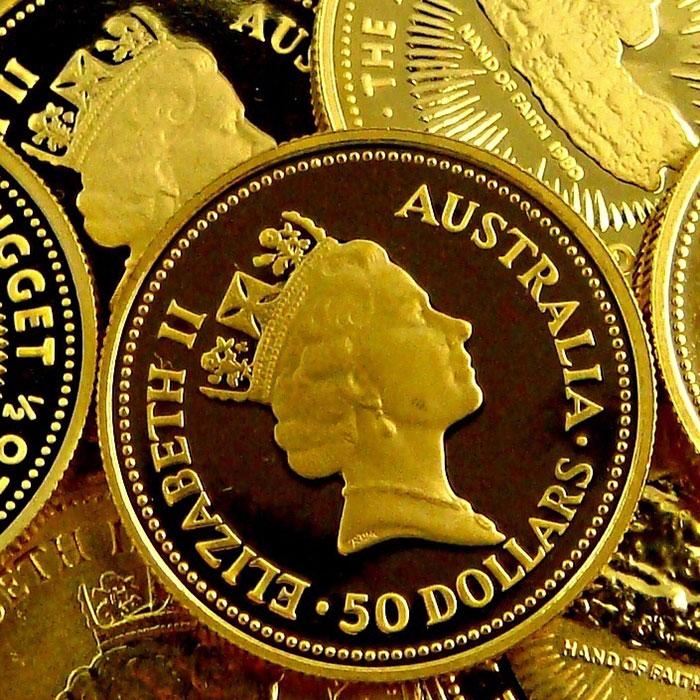Australian Nugget 1/2 oz Gold Coins