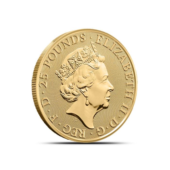 2019 British 1/4 oz Gold Queen