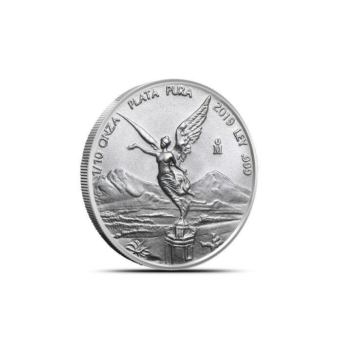 2019 Mexico 1/10 oz Silver Libertad