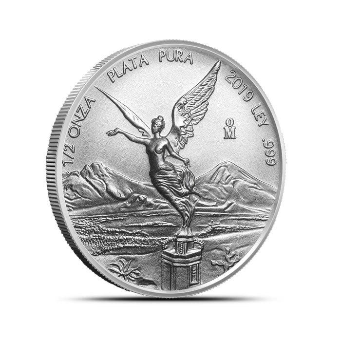2019 Mexico 1/2 oz Silver Libertad