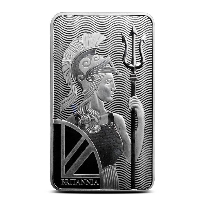 100 oz Silver Britannia Bar