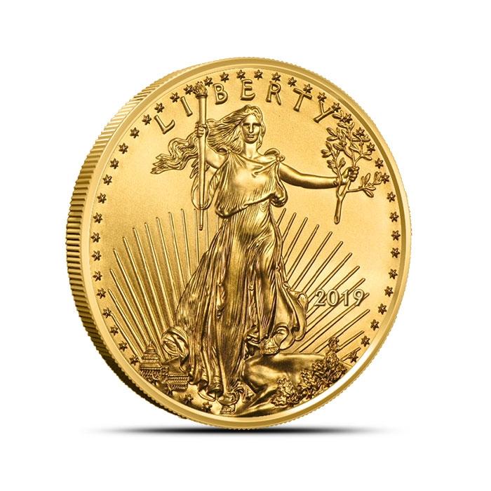 2019 1/2 oz American Gold Eagle