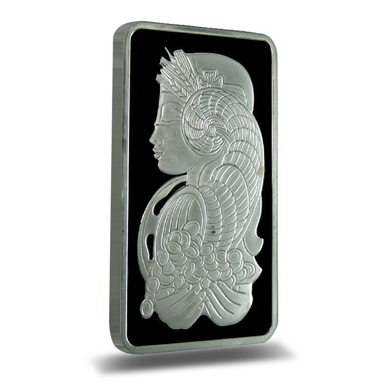 PAMP Suisse 100 gram Fortuna Silver Bar .999 Fine