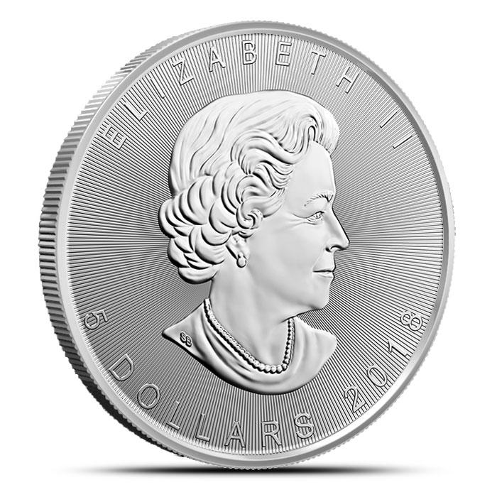 2018 Canada 1 oz Silver 30th Anniversary Maple Leaf