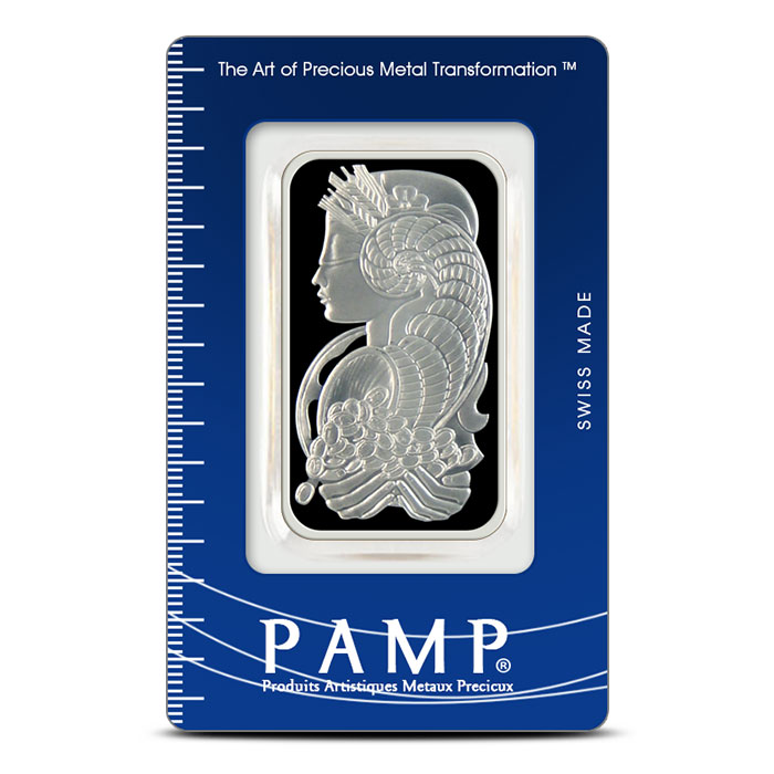 PAMP Suisse 1 oz Fortuna Silver Bar .999 Fine