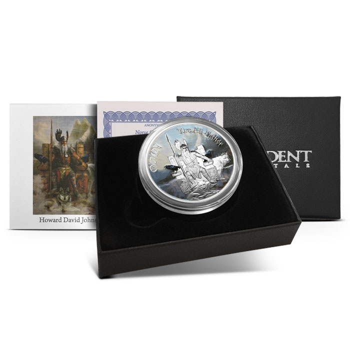 Odin Silver Round | Packaging