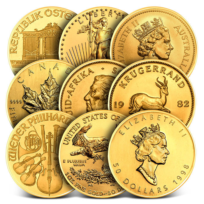 1 oz Gold Coins | Our Choice