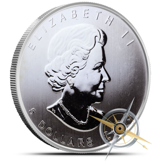 Off Quality | 2013 1 oz Canadian Silver Wood Bison