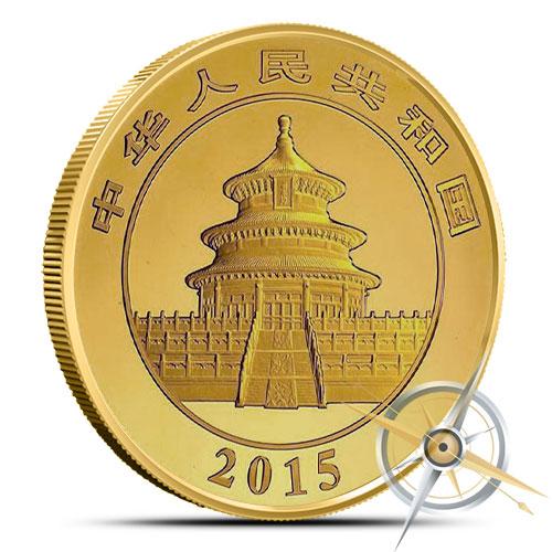 2015 1 oz Chinese Gold Panda