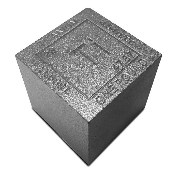 Titanium Cube | 1 pound
