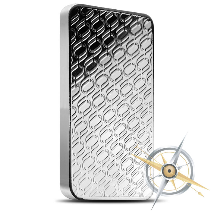 OPM 10 oz Silver Bar Reverse