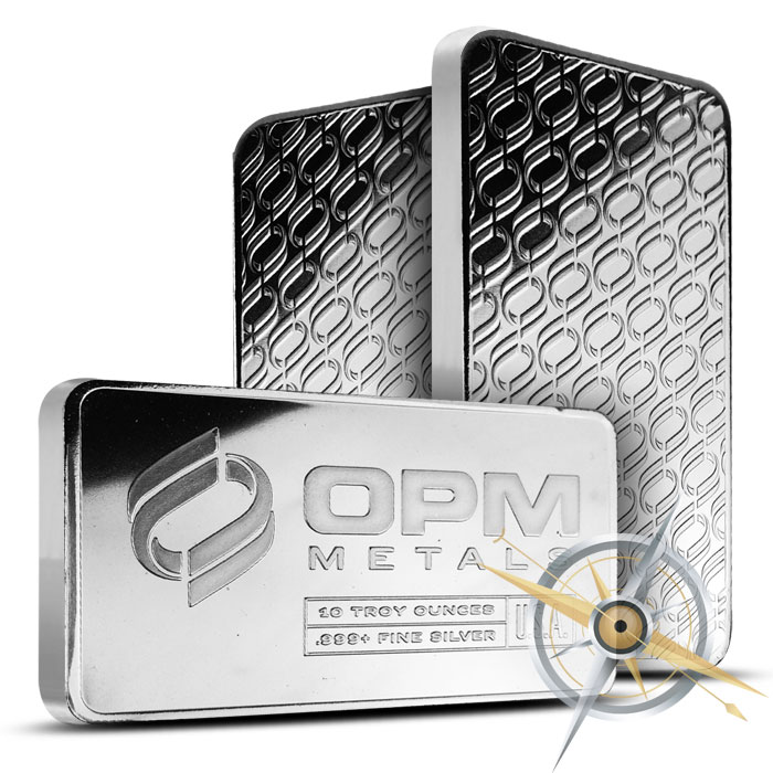 OPM 10 oz Silver Bars