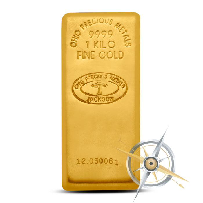 OPM Kilo Gold Bar | Ohio Precious Metals