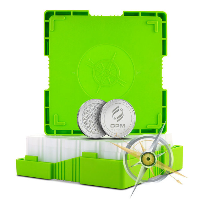 OPM Monster Box   500-1 oz Silver Coins