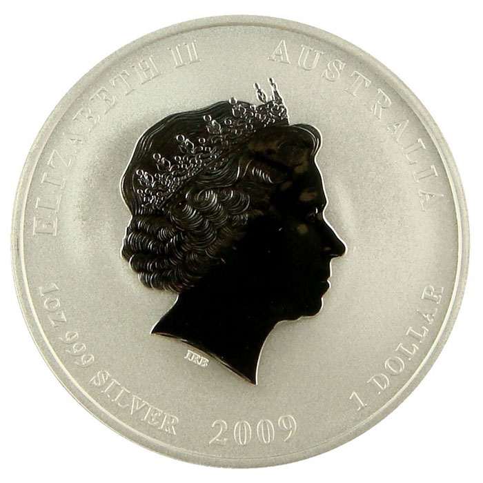 2009 Australia 1 oz Silver Year of the Ox | Lunar Series 2-4026