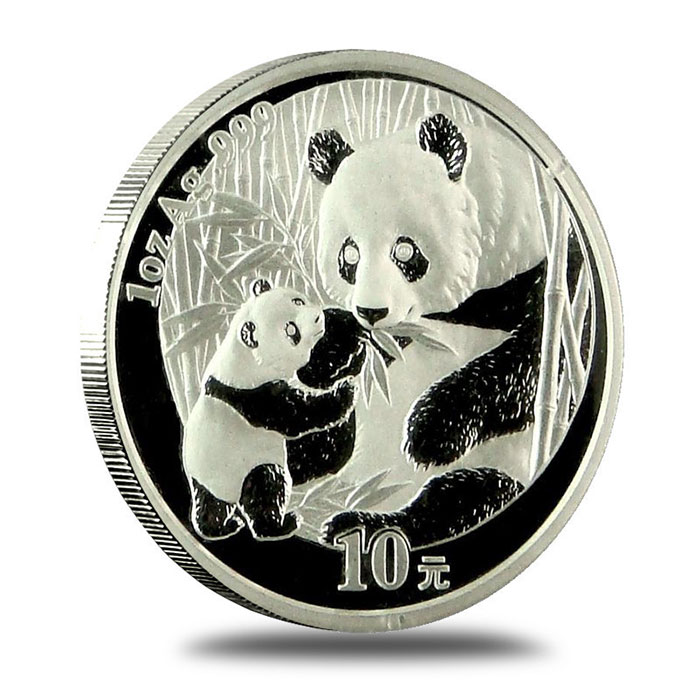 2005 SEALED China Silver Panda 1 Oz Coin Reverse