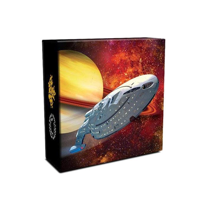 2018 $10 Fine Silver Coin | Star Trek U.S.S. Voyager NCC-74656