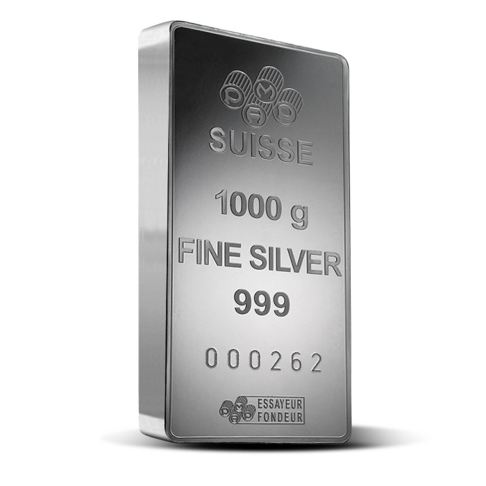 PAMP Suisse Silver Fortuna Bar | 1 kilo