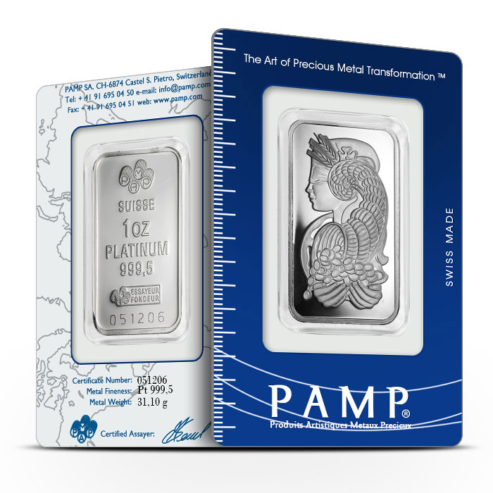 PAMP Platinum Bar