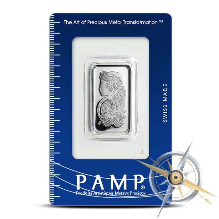 PAMP Suisse 20 gram Fortuna Silver Bar .9995 Fine