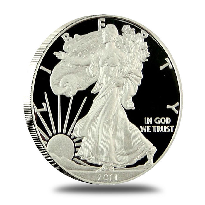 2011 Proof American Silver Eagle | Obverse