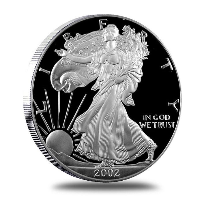 2012 W American Eagle Silver Proof Dollar Coin $1 US ASE Coin W//Box /& COA