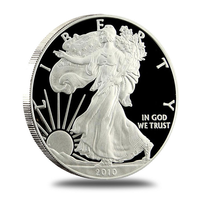 2010 Proof American Silver Eagle | Obverse