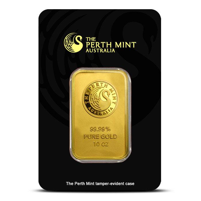 10 oz Gold Bar | Perth Mint