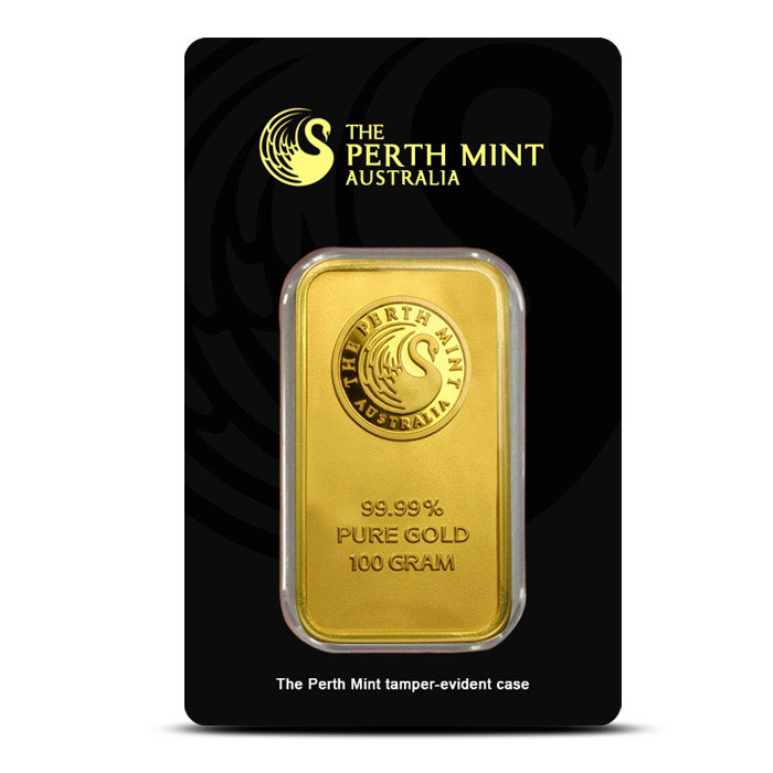 100 gram Gold Bar | Perth Mint