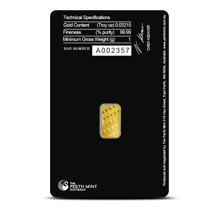 Perth Mint Gold | 1 gram bar