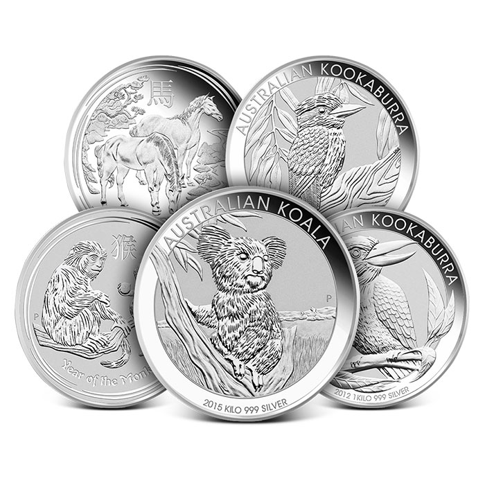 Perth Mint kilo Silver Coin