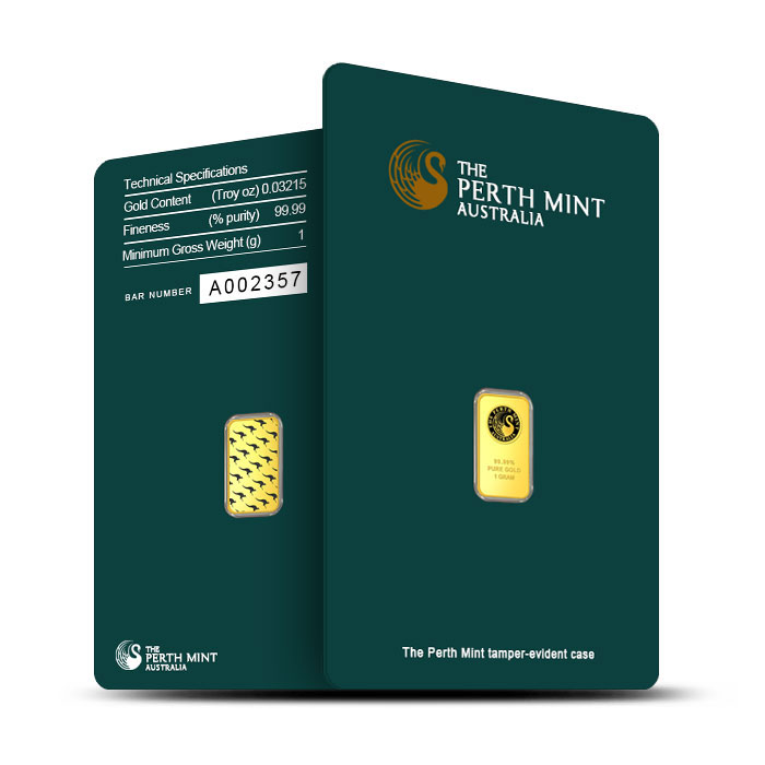 1 Gram Gold Bar | Perth Mint