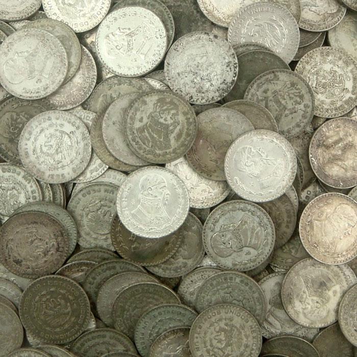 1957-1967 Mexico 1 Peso Silver Coin | Circulated or Better-4412