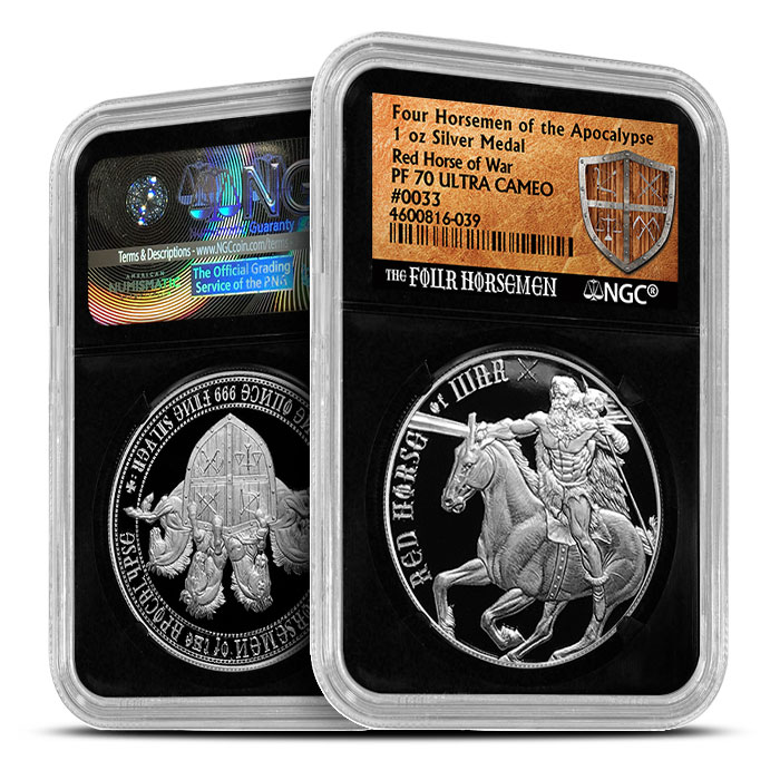 Red Horse of War | Four Horsemen NGC Proof 70