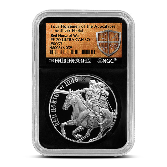 Red Horse of War NGC Proof 70