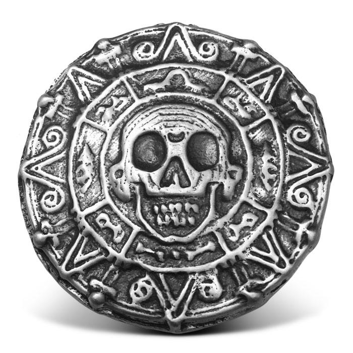 Pirate Treasure 7 oz Silver Round