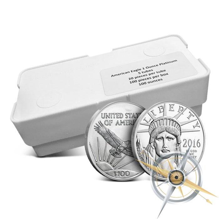 American Platinum Eagle Monster Box