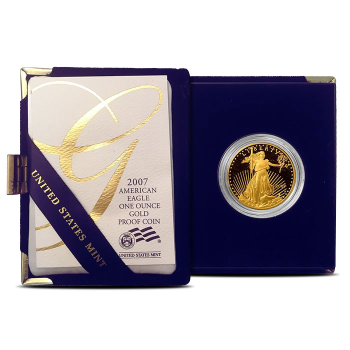 1 oz Proof Gold Eagle