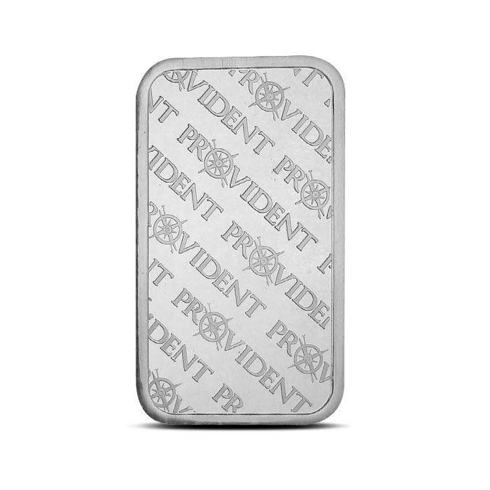 5 os Silver Bar Provident Metals