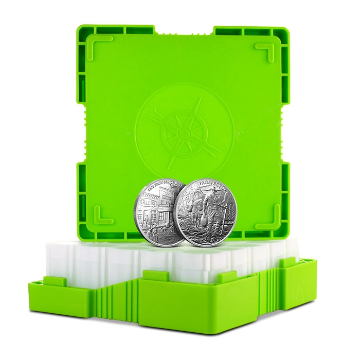 Monster Box 1 oz Silver Round Provident Prospector