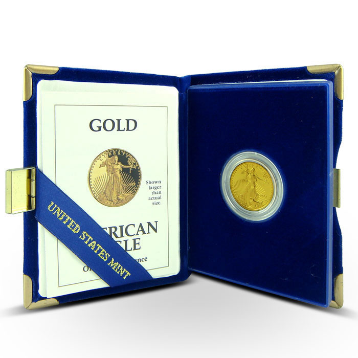 1/4 oz Proof Gold Eagle