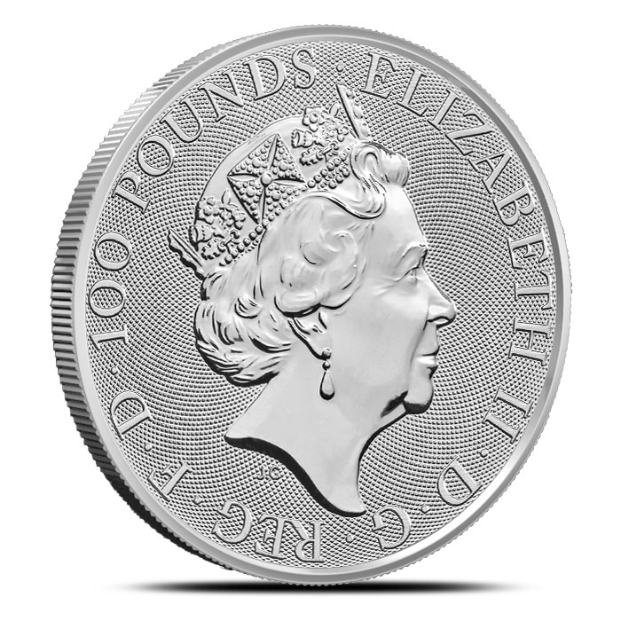 2018 British 1 oz Platinum Queen