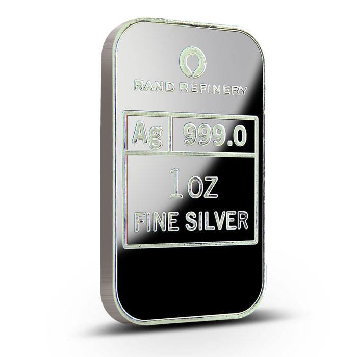 Rand Refinery 2013 Year of the Snake 1 oz Silver Bar Reverse