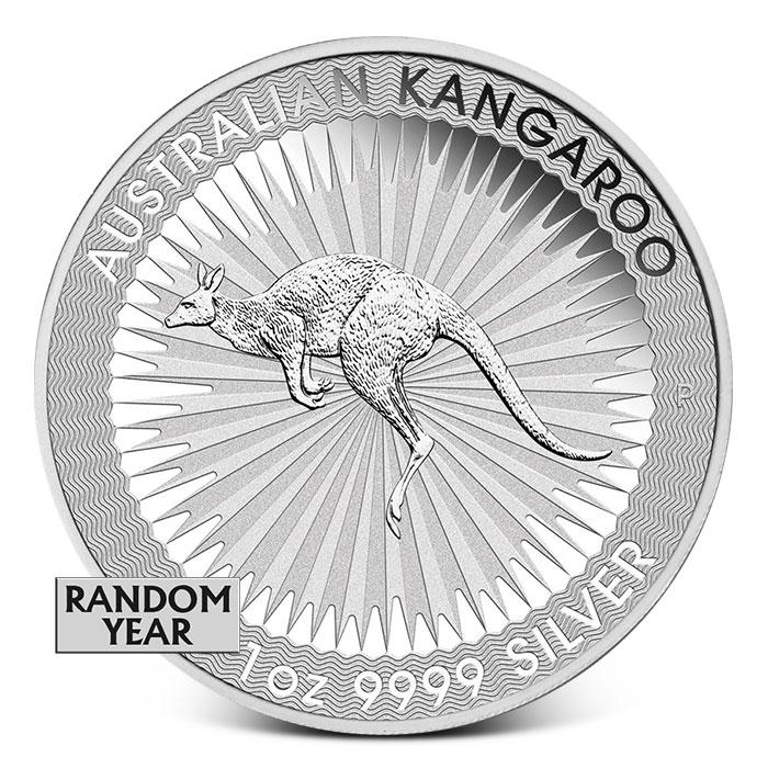 Australia 1 oz Silver Kangaroo Coin