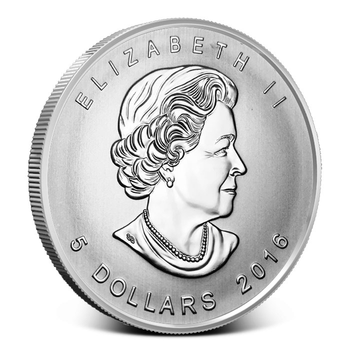 2016 one ounce Silver Canadian Five Blessings Coin